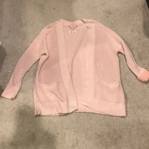 Worn once Hollister pink sweater